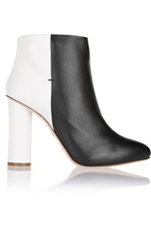 Maiyet Two Tone Leather Boots