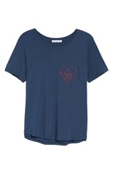 South Parade Women's Kissing Point Tee Navy