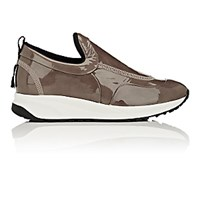 Maison Martin Margiela Women's Patent Leather Slip On Sneakers Nude