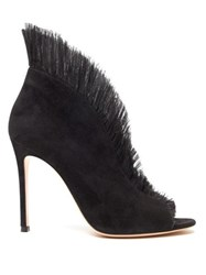 Gianvito Rossi Vamp 105 Suede Pumps Black