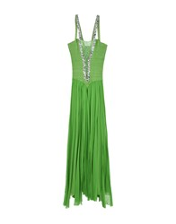 Musani Couture Long Dresses Green
