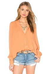 Free People The Best Top Peach