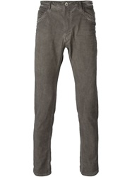 Poeme Bohemien Loose Fit Stonewashed Jeans Grey