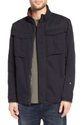 G Star Men's Raw 'Rovic' Shirt Jacket Dark Saru Blue