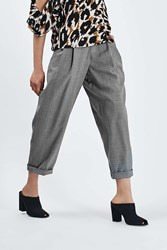 Self Stripe Mensy Trouser By Boutique Grey