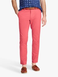 Ralph Lauren Polo Stretch Slim Fit Chinos Nantucket Red
