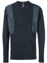Stone Island Shadow Project Shoulders Detailed Pullover Grey