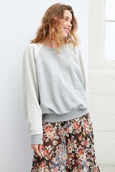 Bdg Reckon Raglan Dolman Sleeve Sweatshirt Grey