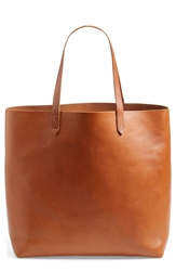 Madewell 'The Transport' Leather Tote English Saddle