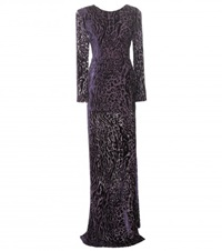 Altuzarra Peregrine Floor Length Gown Purple