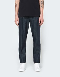 Christophe Lemaire Elasticated Pants In Indigo