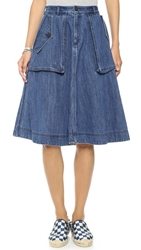 Marc By Marc Jacobs Revival Denim Skirt Vintage Blue