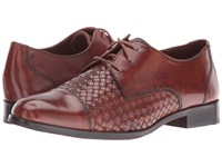 Cole Haan Jagger Weave Oxford Sequoia Sequoia Weave Women's Lace Up Casual Shoes Brown