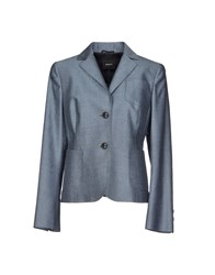 Akris Suits And Jackets Blazers Women Blue