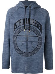 Astrid Andersen 'Carry On' Sweatshirt Blue