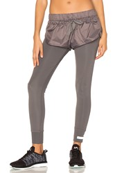 Adidas By Stella Mccartney The Short Tight Charcoal