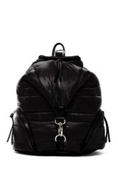 Sondra Roberts Quilted Backpack Black
