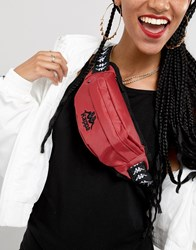Kappa Red Bum Bag With Branded Taping