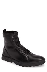 Hood Rubber Men's Hudson Waterproof Tall Boot Black Leather