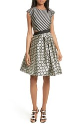 Ted Baker Women's London Reetah Side Cutout Fit And Flare Dress