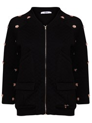 Relish Musette Embelished Jacket Black