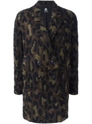 Paul Smith Ps By 'Double Breasted Leo' Coat Green