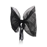 Eugenia Kim Blaire Sinamay Bow Headband Black