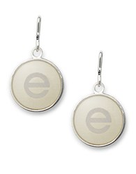 Alex And Ani Initial E Necklace Charm Silver