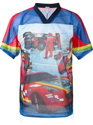 Loewe 'Racing Nascar' Print T Shirt Multicolour