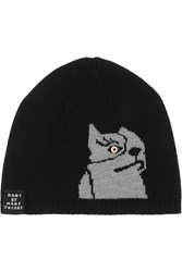 Marc By Marc Jacobs Don't Sweat My Pet Intersia Merino Wool Hat