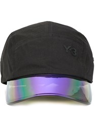 Y 3 Iridescent Peak Cap Black