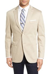 Jkt New York Men's Trim Fit Stretch Cotton Blazer
