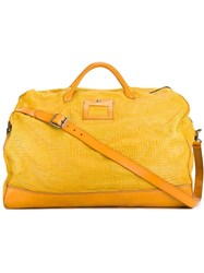 Numero 10 Crocodile Effect Weekender Yellow And Orange