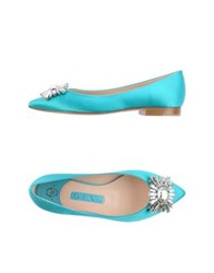 Gina Ballet Flats Turquoise