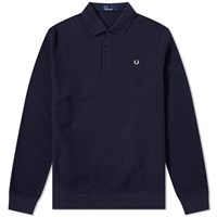Fred Perry Honeycomb Polo Blue