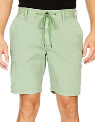 Lucky Brand Rip Stop Utility Shorts Jaded Green