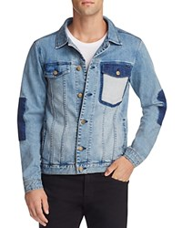 Barney Cools M Rourke Denim Jacket Indigo Repair