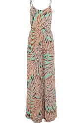 Vix Swimwear Lotus Kate Printed Jersey Jumpsuit Multi