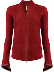 Isaac Sellam Experience Stretch Effect Jacket Red