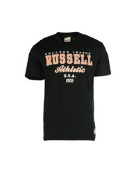 Russell Athletic T Shirts Black