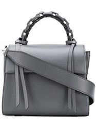 Elena Ghisellini Small Angel Tote Grey