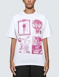 Aries Zine T Shirt White
