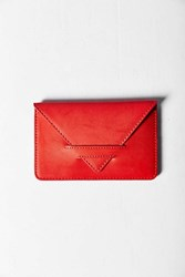 Urban Outfitters Simple Cardholder Wallet Red