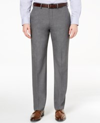 Ryan Seacrest Distinction Men's Ultimate Moves Modern Fit Stretch Medium Gray Suit Pants Created For Macy's Grey