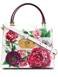 Dolce And Gabbana Welcome Floral Print Tote Multicolour
