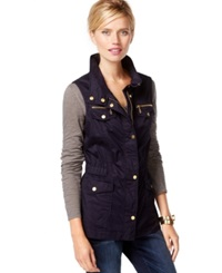 Inc International Concepts Removable Puffer Anorak Vest Only At Macy's