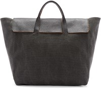 3.1 Phillip Lim Grey Canvas Honor Tote