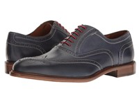 Massimo Matteo 6 Eye Wing Tip Mare Lace Up Wing Tip Shoes Brown