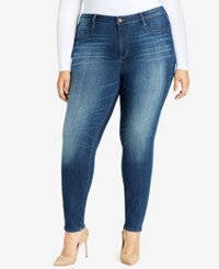 William Rast Trendy Plus Size High Rise Jeans Rustic New