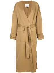 3.1 Phillip Lim Belted Trench Coat Brown